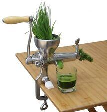 Stainless Steel Hand Manual Wheatgrass Juicer Vegetable Fruit Orange Juicer
