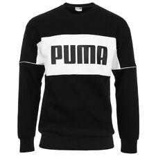 Vêtement Sweats Puma homme Retro Crew dk taille Noir Coton