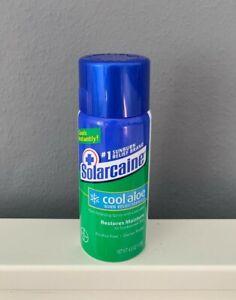 Solarcaine Sunburn Pain Relief Spray Cool Aloe Sunscreen After Après Sun