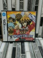 *NO GAME* Yu-Gi-Oh GX Spirit Caller (Nintendo DS, 2007) Case & Manuals ONLY