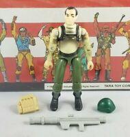 Original 1997 GI JOE Sgt ZAP V1 ARAH not Complete UNBROKEN figure Stars & Stripe