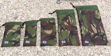 Bits bag set made from Cordura camo pattern fabric