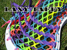 Lacrosse Money Mesh Laxy Taffy Neon pink yellow blue purple green Show your Swag