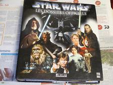 classeur STAR WARS dossiers officiels ATLAS 2002 fascicules 1 à 11 14 à 17 22 25