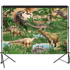 Jurassic Era Dinosaur Backdrop Party Decoration Photography Background 7x5 feet