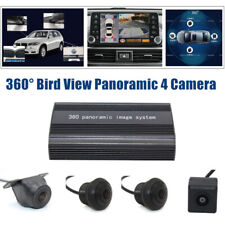 360° Bird View Panoramic 4 Way Camera Car DVR Recording Parking Rear View Video