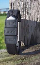Bitbelt Jr 3 Pack Black for Fitbit Alta, Flex, Amiigo, Jawbone up24, Striiv,