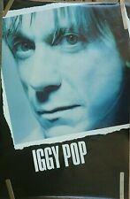 RARE IGGY POP 1990 VINTAGE ORIGINAL MUSIC POSTER