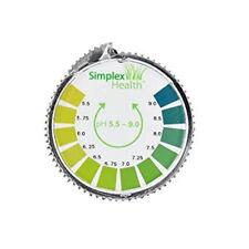 Alkaline pH Test Litmus Paper Strips 5.5 - 9 for Water Urine & Saliva (5M Roll)