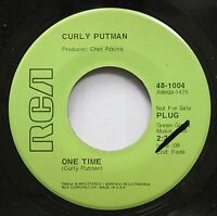 Country Promo 45 Curly Putman - One Time / The Divorce Sale On Rca