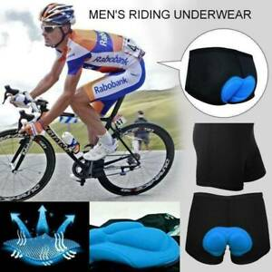 Men Women Cycling Shorts Bicycle Bike Underwear Pants  With Sponge Gel 3D Padded
