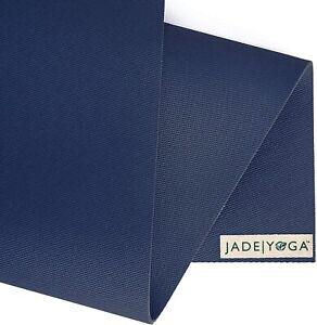 "Jade Yoga 68"" Eco Friendly Yoga Pilates Exercise Fitness Mat Midnight blue"