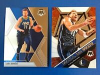 2019-20 Panini Mosaic Lot LUCA DONCIC 2nd Year Base #44 and Will To Win #13