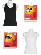 Ladies Heat Holders Thermal underwear Sleeveless Vest Top Seamless Body
