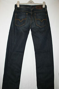 Authentic Diesel Mens LARKEE Blue Straight Fit 074C waist 29 L 34 BNWT Rrp £110