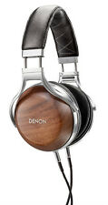 Denon AH-D7200 Reference Over-Ear Headphones -  Natural Walnut Wood