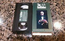 THE GODFATHER RARE VHS TAPE! PARAMOUNT 1972 AL PACINO,JAMES CAAN, ROBERT DUVALL!
