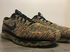 NIKE AIR MAX 2015 'FLYKNIT MULTICOLOR' 620469-004 US MENS 11