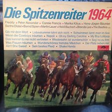 LP Die Spitzenreiter 1964 >Tilly/BEATLES/Bachert/B.Lee/ua.< Polydor Germany EX