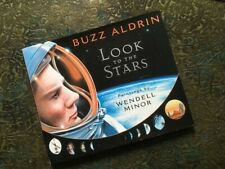 Autographed Buzz Aldrin Look to the Stars Signed Nasa space book