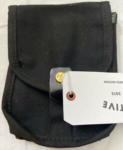 """New Billy Kirk for Target Black  Canvas Belt Pouch Phone  5 x 7"""""""