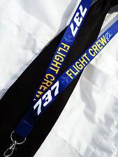 Lanyard BOEING 737 FLIGHT CREW keychain neckstrap for pilot crew Lanyard B737
