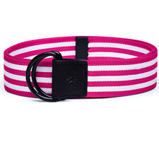 Adidas Golf Women's Web Belt - One-Size-Fits-Most Magenta