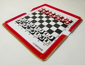 Road chess, magnetic, pocket, mini chess of the USSR