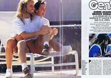 COUPURE DE PRESSE CLIPPING 1994 ANDRE AGASSI - BROOKE SHIELDS(3 pages)