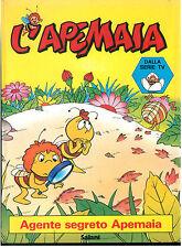 L'APEMAIA AGENTE SEGRETO SALANI 1980 FUMETTI CARTONI ANIMATI SERIE TV ANNI '80