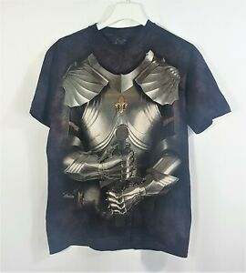 The Mountain Dyed Short Sleeve t shirt Size M Medieval Suit Of Armour Knight