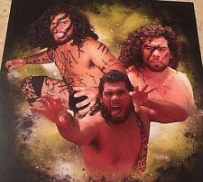 """CMLL El Barbaro Cavernario 8"""" X 10 CardStock Promo Photograph, NJPW, Crash, ROH"""