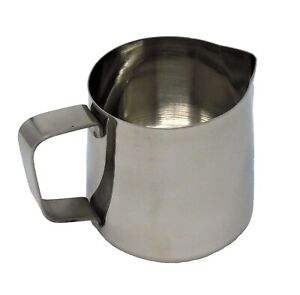 CookSpace ® Stainless Steel Milk Jug 400ml milk frothing cream water sauces