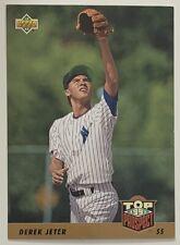 Derek Jeter 1993 Upper Deck Top Prospect Rookie RC