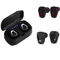 Bluetooth V5.0 Earbud Invisible Headphone Wireless Sweatproof Noise Cancelling