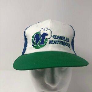 NWT! Vintage 90s Dallas Mavericks NBA Snapback Hat Retro Twins Enterprises  RARE