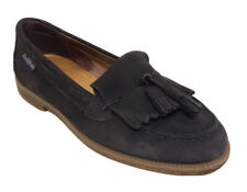 RUSSELL & BROMLEY Chester Nubuck Leather Tassel Loafers Size EU 37 UK 4
