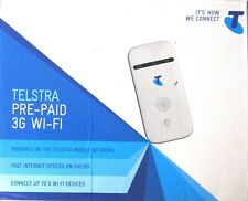 TELSTRA MF65 Pre-Paid Modem 3G Wi-Fi Mobile Broadband Hotspot (Up to 5 Devices)