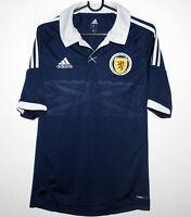 Scotland National Team home shirt 12/14 Adidas Size S