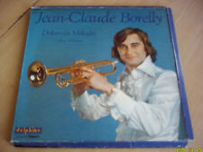 Vinyle 33 tours Jean- Claude Borelly  ( 3 disques)