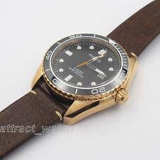 42mm Parnis 21 Jewels Automatic Luminous Mark Men Watch Sapphire Water Resistant