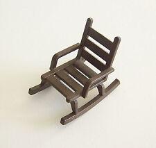 PLAYMOBIL (B4226) WESTERN - Rocking Chair Marron Foncé