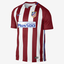 Atletico Madrid Adults Home Football Shirts (Spanish Clubs)