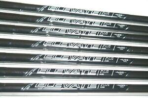 True Temper Elevate ETS 115 stiff flex steel PULLED Iron shafts X7