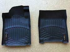 WeatherTech Digital Fit Black Front Floor Mats 08-13 Chevy Silverado 1500-3500