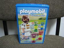 Playmobil - City Life - Juego Verano Cocinero Farolillos - 6311 - (NUEVO) OVP