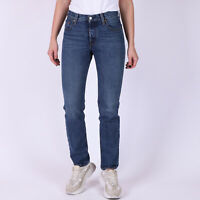 Levi's 501 Original Fit Blau Damen Jeans 25/32