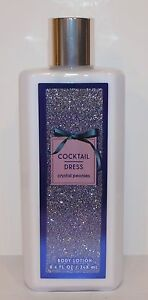 BATH & BODY WORKS COCKTAIL DRESS CRYSTAL PEONIES LOTION CREAM HAND LARGE 8.4 OZ