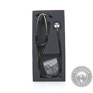 "OPEN BOX 3M Littmann 6152 Stethoscope - Black / Stainless Steel Chestpiece - 27"""