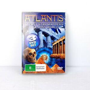 Atlantis - Secret Star Mappers of a Lost World - DVD - FREE POST